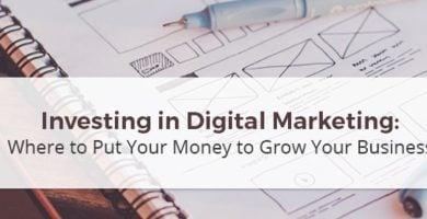 Investing in Online Marketing